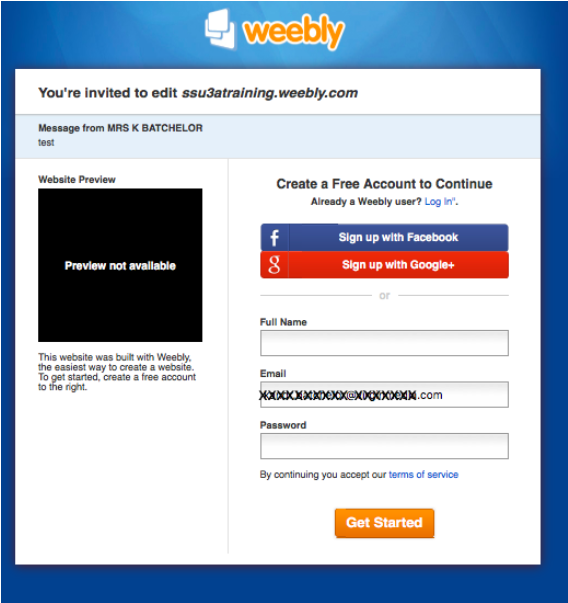Weebly Training - South Solihull U3A